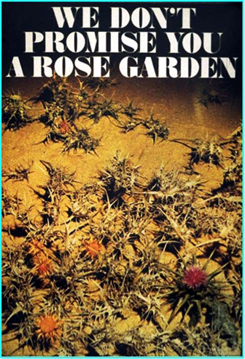 We Don 39 T Promise You A Rose Garden The Palestine Poster