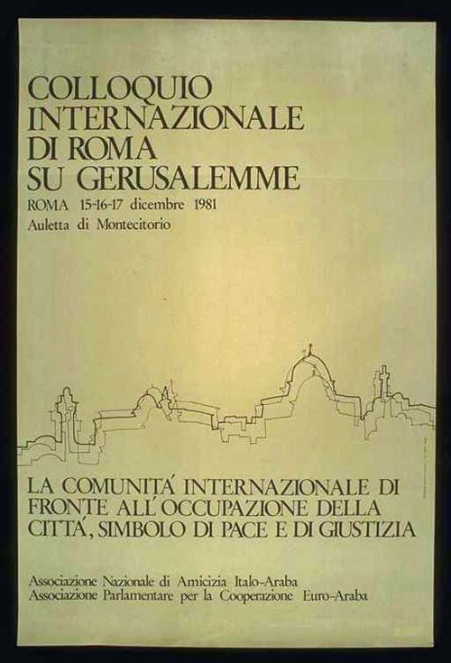 "<a href=""/artist/research-in-progress"">Research in Progress </a> - <a href=""/nationalityposter/italy"">Italy</a> - 1981 - GAZA"