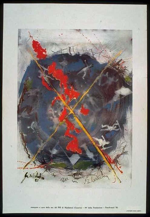 """<a href=""""/artist/del-vecchio""""> Del Vecchio</a> - <a href=""""/nationalityposter/italy"""">Italy</a> - 1982 - GAZA"""