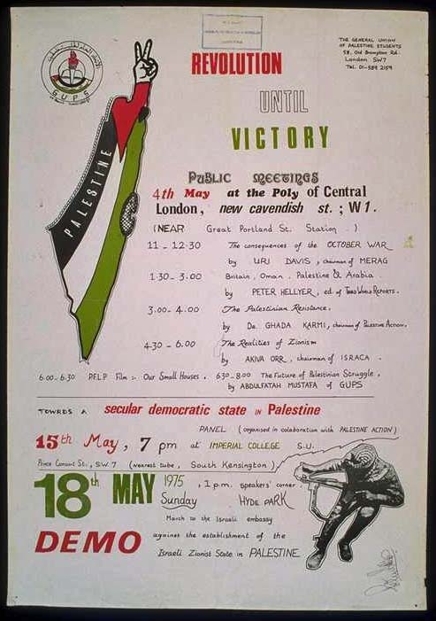 "<a href=""/artist/research-in-progress"">Research in Progress </a> - <a href=""/nationalityposter/united-kingdom"">United Kingdom</a> - 1975 - GAZA"