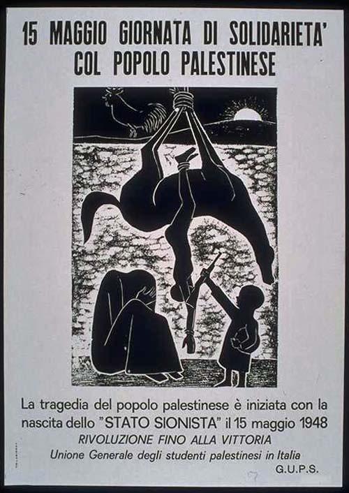 "<a href=""/artist/mustafa-al-hallaj"">Mustafa Al Hallaj</a> - <a href=""/nationalityposter/italy"">Italy</a> - 1980 - GAZA"