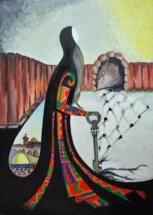 "<a href=""/artist/saher-ishtayah"">Saher Ishtayah</a>"