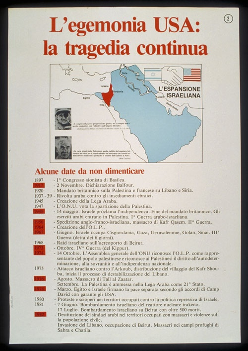 """<a href=""""/artist/research-in-progress"""">Research in Progress </a> - <a href=""""/nationalityposter/italy"""">Italy</a> - 1982 - GAZA"""
