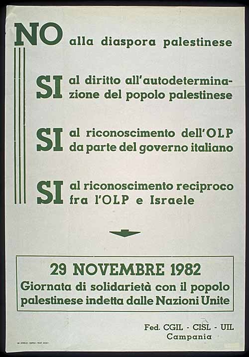 "<a href=""/artist/research-in-progress"">Research in Progress </a> - <a href=""/nationalityposter/italy"">Italy</a> - 1982 - GAZA"
