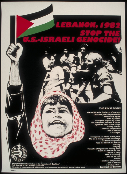 """<a href=""""/artist/research-in-progress"""">Research in Progress </a> - <a href=""""/nationalityposter/united-states-of-america"""">United States of America</a> - 1982 - GAZA"""