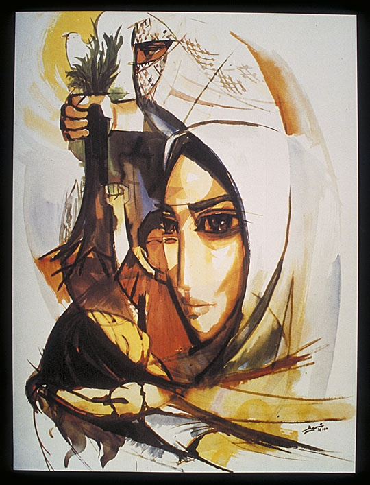 "<a href=""/artist/ismail-shammout-1930-2006"">Ismail Shammout (1930-2006)</a> - <a href=""/nationalityposter/germany"">Germany</a> - 1976 - GAZA"