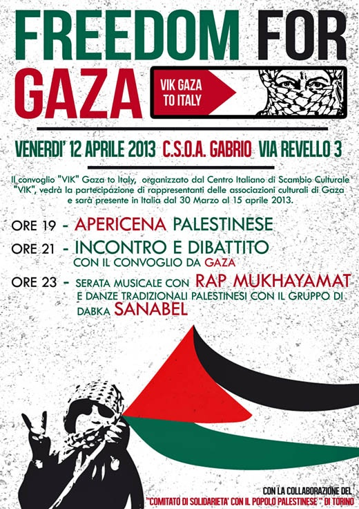 "<a href=""/artist/research-in-progress"">Research in Progress </a> - <a href=""/nationalityposter/italy"">Italy</a> - 2013 - GAZA"