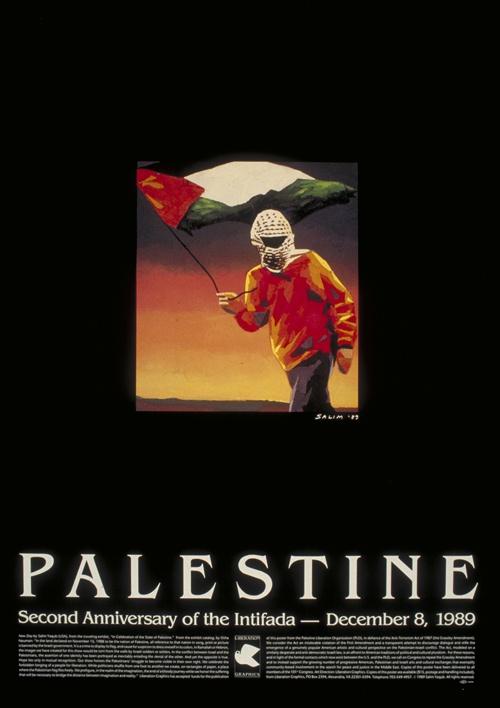 """<a href=""""/artist/salim-yaqub"""">Salim  Yaqub</a> - <a href=""""/nationalityposter/united-states-of-america"""">United States of America</a> - 1989 - GAZA"""