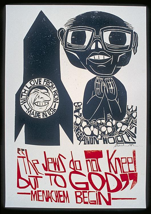 "<a href=""/artist/paul-peter-piech"">Paul Peter  Piech</a> - <a href=""/nationalityposter/united-kingdom"">United Kingdom</a> - 1982 - GAZA"