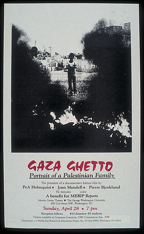 "<a href=""/artist/research-in-progress"">Research in Progress </a> - <a href=""/nationalityposter/united-states-of-america"">United States of America</a> - 1985 - GAZA"