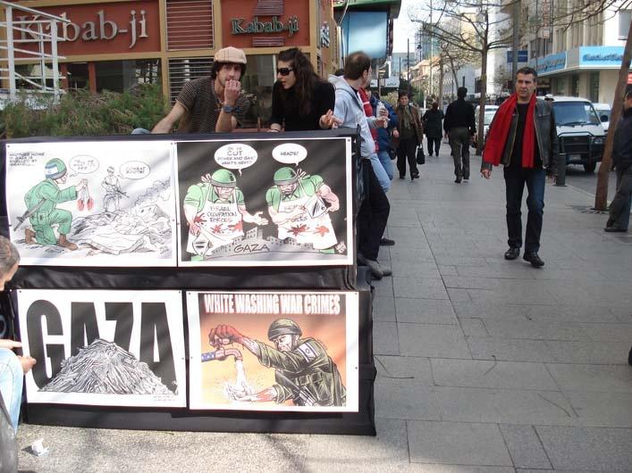 """<a href=""""/artist/carlos-latuff"""">Carlos Latuff</a> -  2008 - GAZA"""