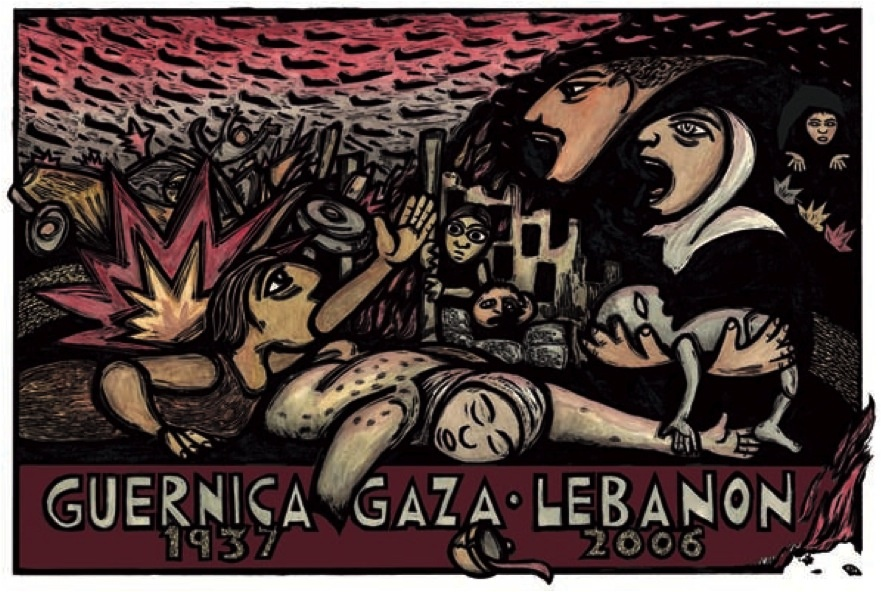 "<a href=""/artist/ricardo-levins-morales"">Ricardo  Levins Morales</a> - <a href=""/nationalityposter/united-states-of-america"">United States of America</a> - 2006 - GAZA"