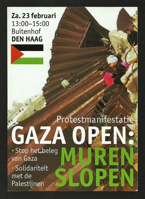 "<a href=""/artist/contemporary-bart"">Contemporary Bart</a> - <a href=""/nationalityposter/netherlands"">Netherlands</a> - 2008 - GAZA"