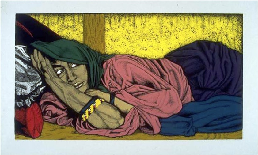 "<a href=""/artist/charlene-hassencahl"">Charlene Hassencahl</a> -  1985 - GAZA"