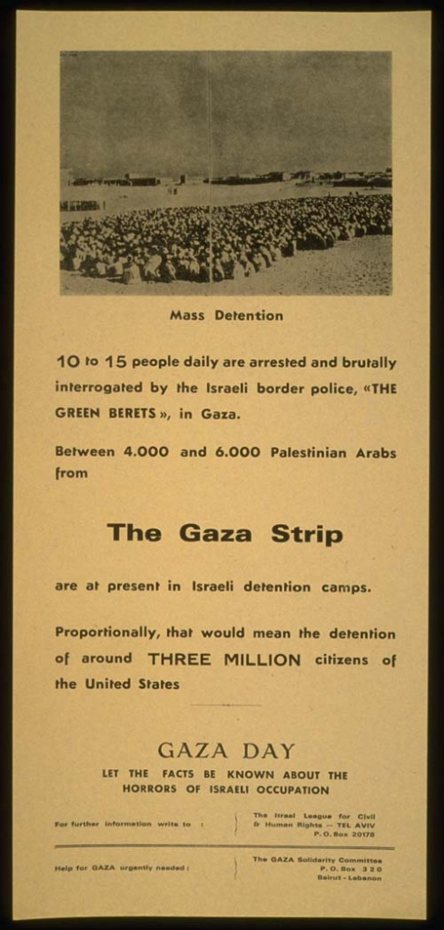 "<a href=""/artist/research-in-progress"">Research in Progress </a> -  1972 - GAZA"