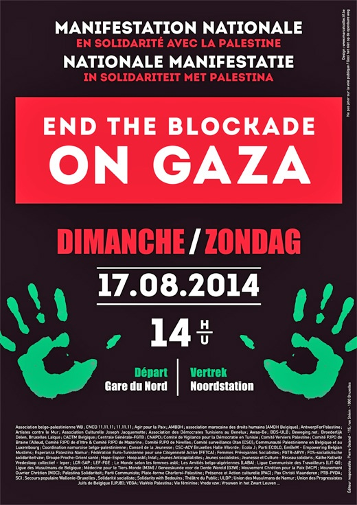 "<a href=""/artist/marcelcollectif"">MarcelCollectif </a> - <a href=""/nationalityposter/belgium"">Belgium</a> - 2014 - GAZA"