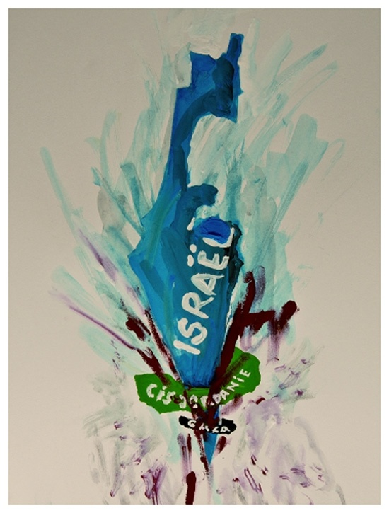 """<a href=""""/artist/alex-jordan-atelier-nous-travaillons-ensemble"""">Alex Jordan (Atelier Nous Travaillons Ensemble)</a> - <a href=""""/nationalityposter/france"""">France</a> - 2014 - GAZA"""