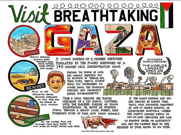"<a href=""/artist/darren-cullen"">Darren Cullen</a> -  2014 - GAZA"