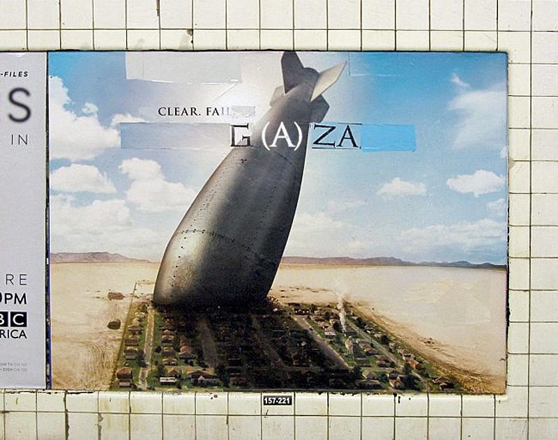 """<a href=""""/artist/poster-boy-nyc"""">Poster Boy NYC</a> -  2014 - GAZA"""