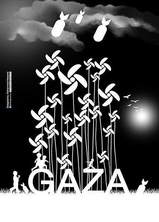 "<a href=""/artist/mohammed-hassona"">Mohammed Hassona</a> - <a href=""/nationalityposter/palestine"">Palestine</a> - 2014 - GAZA"