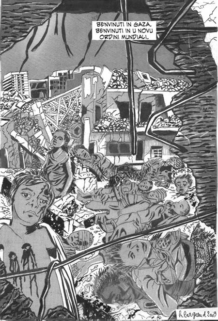 "<a href=""/artist/herv%C3%A9-largeaud"">Hervé  Largeaud</a> -  2009 - GAZA"
