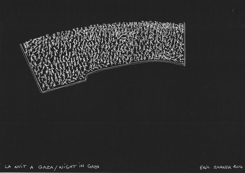 "<a href=""/artist/eric-sarner"">Eric Sarner</a> - <a href=""/nationalityposter/germany"">Germany</a> - 2014 - GAZA"