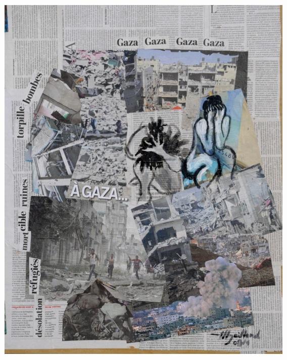 """<a href=""""/artist/michel-gaillard"""">Michel Gaillard</a> - <a href=""""/nationalityposter/france"""">France</a> - 2014 - GAZA"""