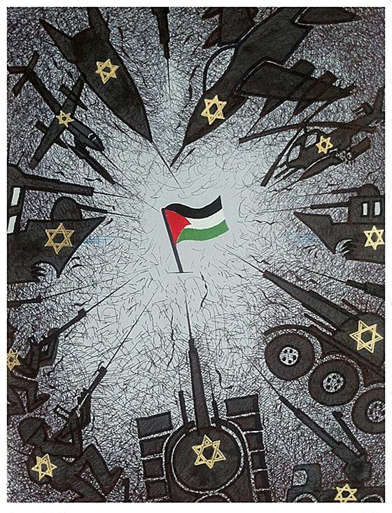 "<a href=""/artist/fran%C3%A7ois-miehe"">François Miehe</a> - <a href=""/nationalityposter/france"">France</a> - 2014 - GAZA"