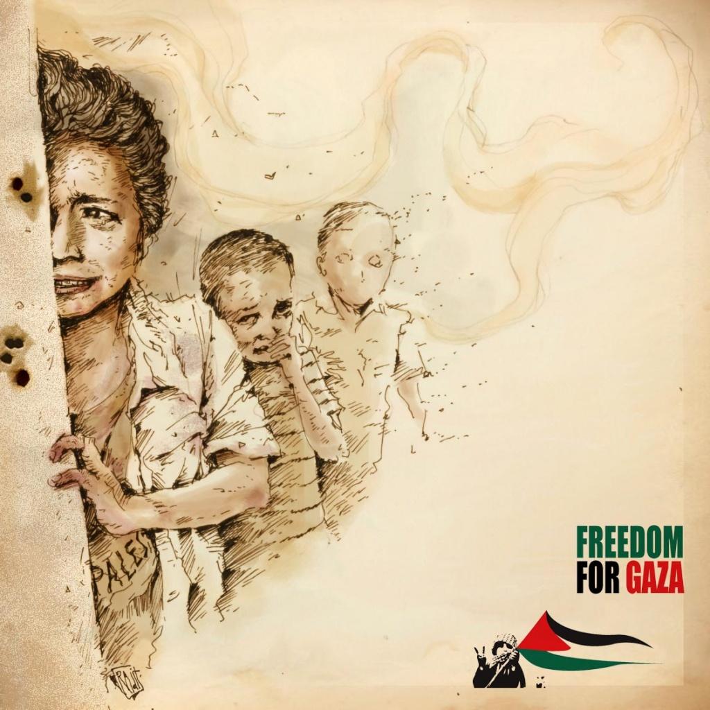 "<a href=""/artist/radit-juli"">Radit Juli</a> -  2014 - GAZA"