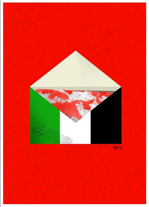 """<a href=""""/artist/seyyedmehdi-mousavi"""">Seyyedmehdi Mousavi </a> - <a href=""""/nationalityposter/iran"""">Iran</a> - 2014 - GAZA"""