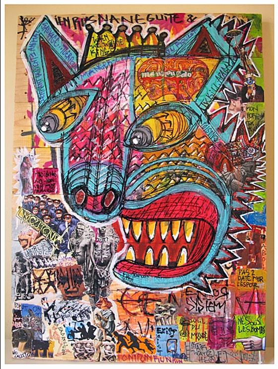 "<a href=""/artist/sonrieaka79"">Sonrieaka79</a> - <a href=""/nationalityposter/france"">France</a> - 2014 - GAZA"