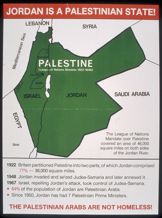 Salvaje vertical Circunferencia  Palestinian Arabs Are Not Homeless! | The Palestine Poster Project Archives