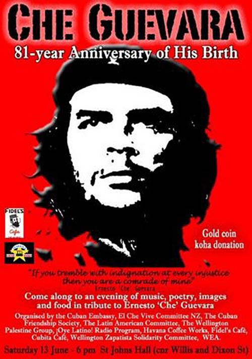 che guevara tribute the poster project archives che guevara tribute