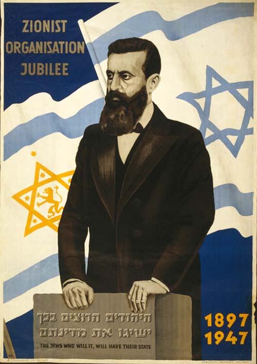 the jews who will it  will have their state