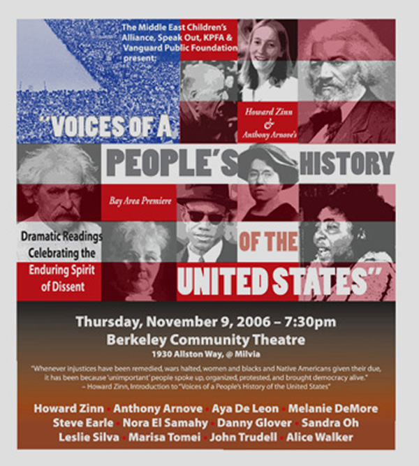 Voices Of A Peoples History Of The United States The Palestine