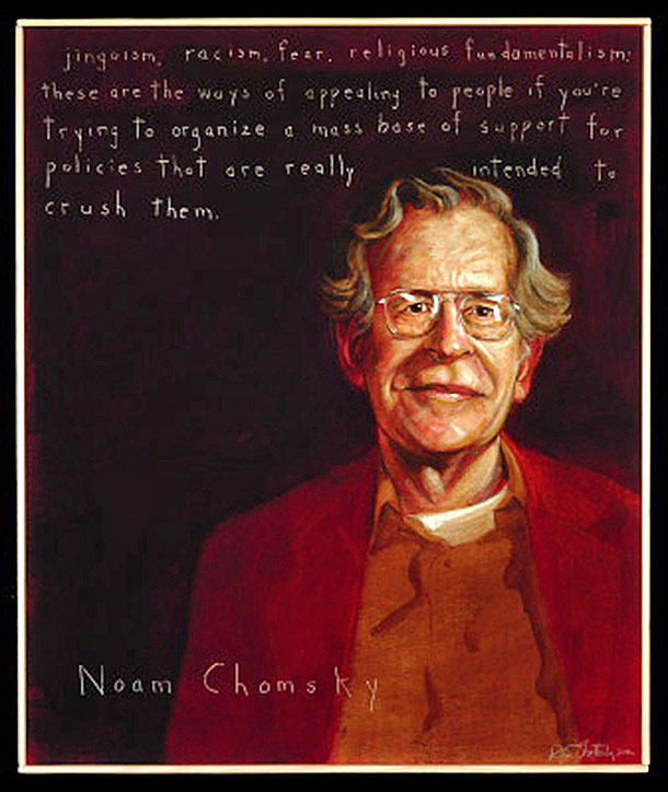americans who tell the truth noam chomsky the poster  americans who tell the truth noam chomsky