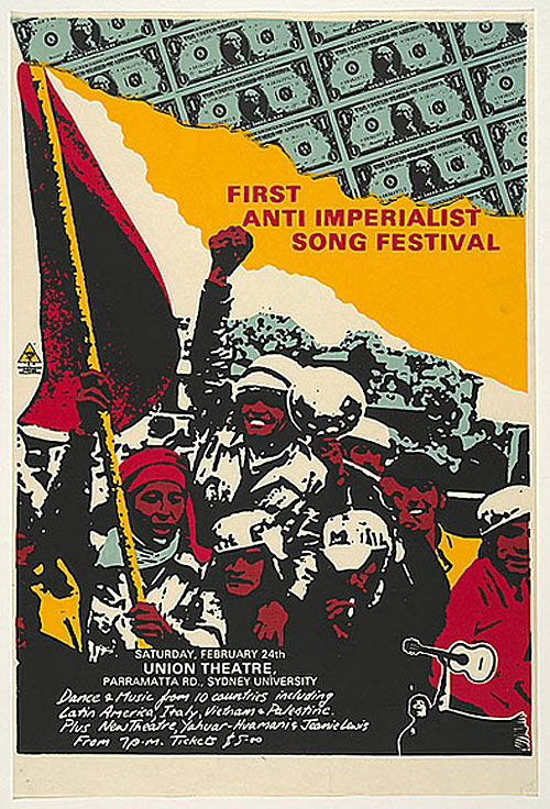 First Anti-Imperialist Song Festival | The Palestine Poster Project