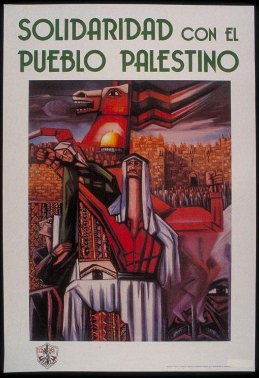 """<a href=""""/artist/fathy-ghabin"""">Fathy Ghabin</a> - <a href=""""/nationalityposter/spain"""">Spain</a> - 1987 - GAZA"""