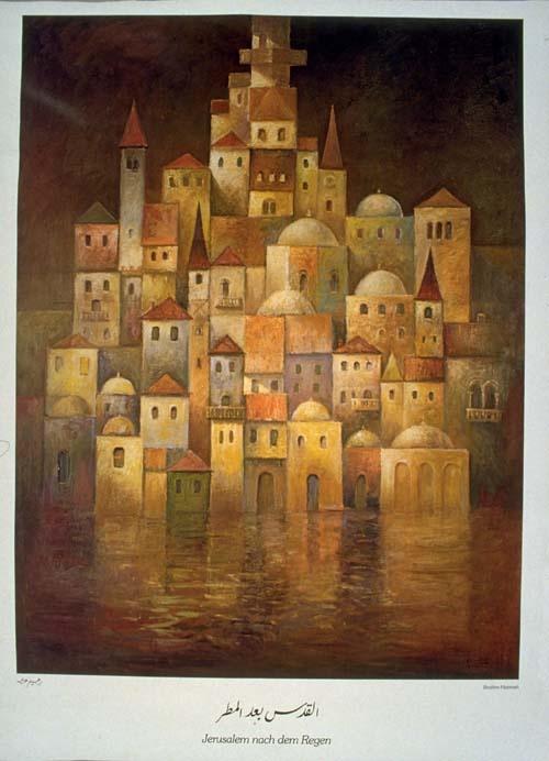 """<a href=""""/artist/ibrahim-hazimeh"""">Ibrahim  Hazimeh</a> -  1985 - GAZA"""
