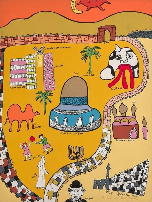 "<a href=""/artist/niki-de-saint-phalle-1930-2002"">Niki de Saint Phalle (1930 - 2002)</a>"