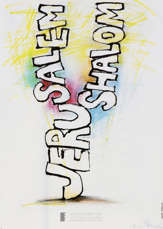 "<a href=""/artist/andre-francois"">Andre Francois</a> - <a href=""/nationalityposter/israel"">Israel</a> - 1997 - GAZA"