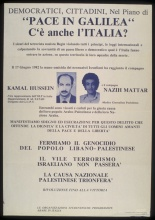 """<bdi class=""""metadata-value"""">""""Pace in Galilea"""" - C'è Anche l'Italia?</bdi>"""