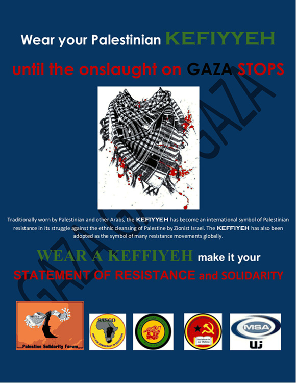 Wear Your Palestinian Kefiyyeh The Palestine Poster Project Archives
